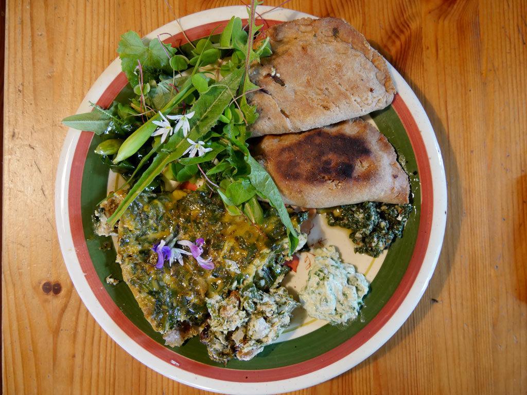 Assiette bio et végétarienne