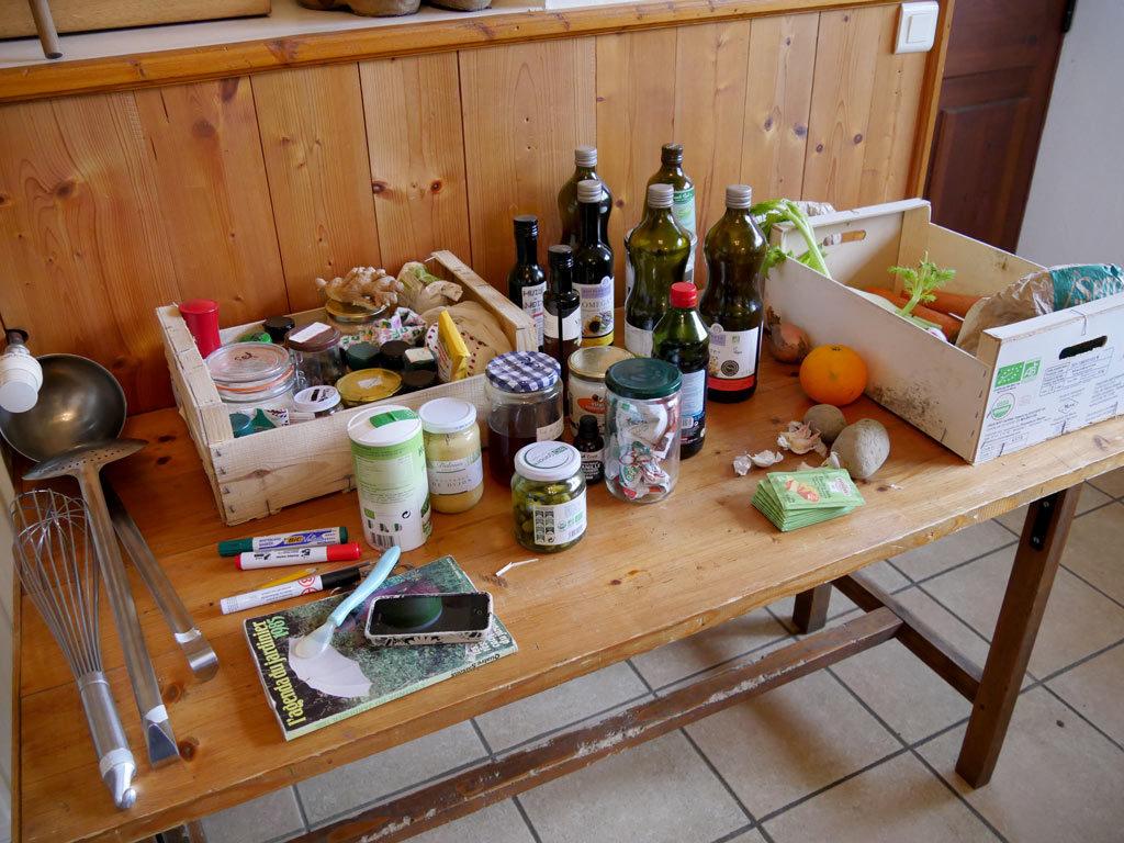 produits de cuisine bio et végétarien