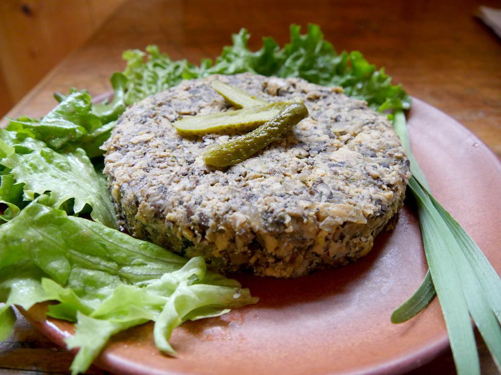 Terrine bio et végétarienne